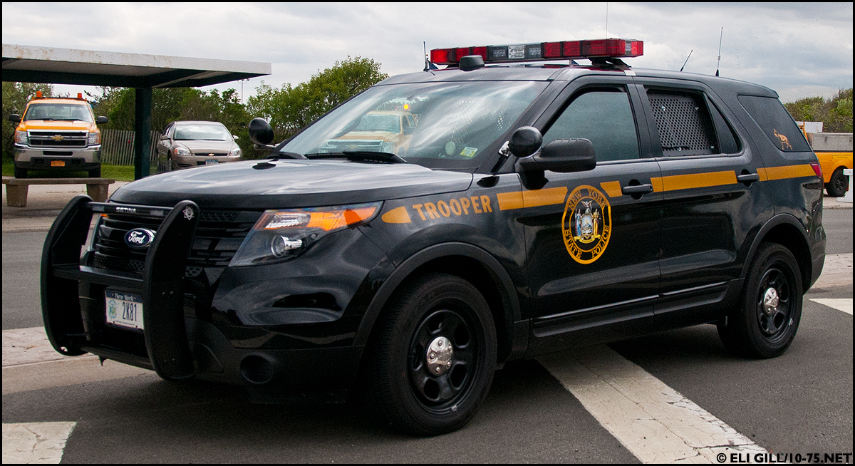New Ford Explorer >> New York State Police